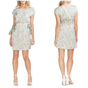 Vince Camuto Ethereal Dawn Floral Side Tie Dress